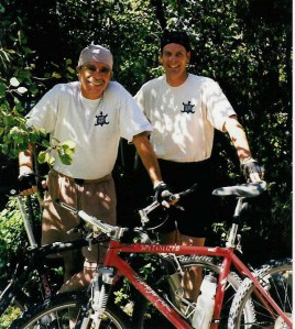 Abbott and Rushforth author photo_bikes