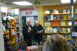 Abbott and Rushforth Read at The King's English